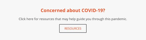 Concerned about COVID 19 Resources CTA from Actsafe