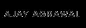 Professor Ajay Agrawal Logo 600x200px